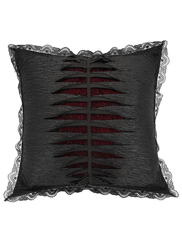 Gothic Dragon Bone Cushion Cover