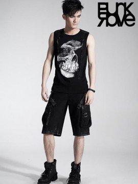Mens Gothic Shorts