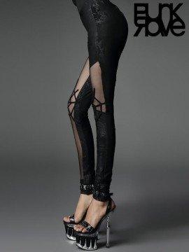 Gothic Spider Web Stretch Leggings