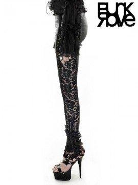Gothic Patchwork Lace Leggings