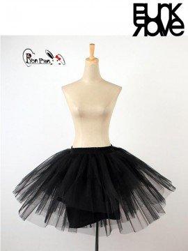 Lolita Black Tulle Mesh Underskirt