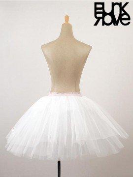 Lolita White Tulle Mesh Underskirt