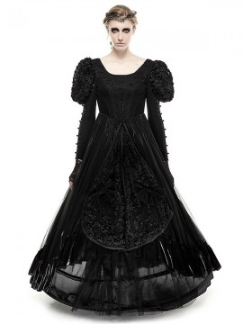 Gothic Lolita Big Swing Dress