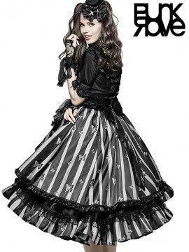 Lolita Black Butterfly Skirt