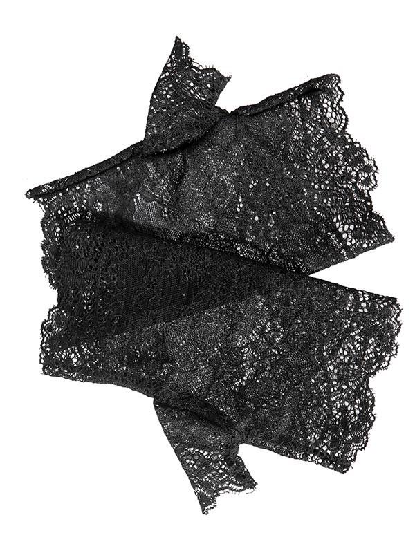 Lolita Gothic Lace Half Gloves
