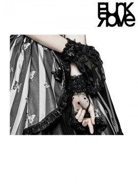 Lolita Translucent Half Gloves
