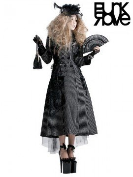Lolita Steampunk 2-Piece Curse Long Coat