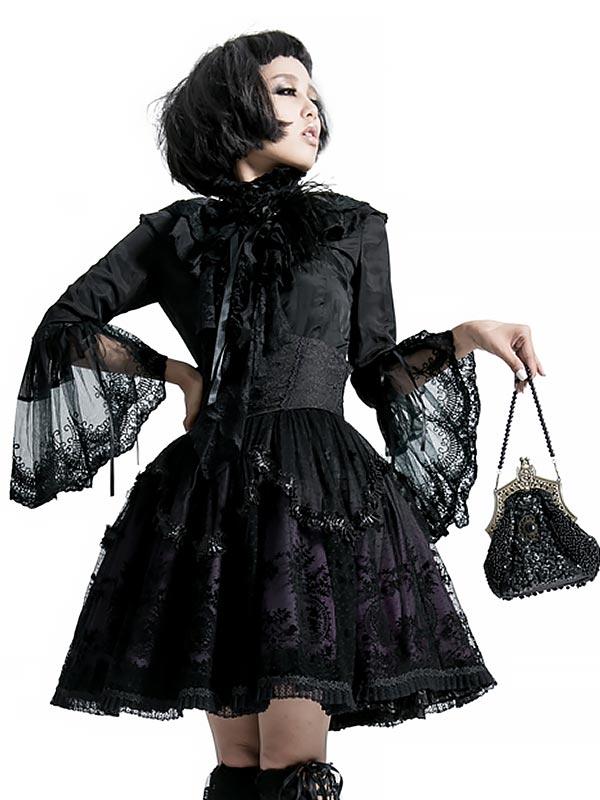 Gothic Lolita Hand Painted Waistband