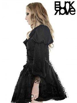 Gothic Lolita Polka Dot Mesh Coat