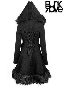 Gothic Lolita Woollen Long Coat