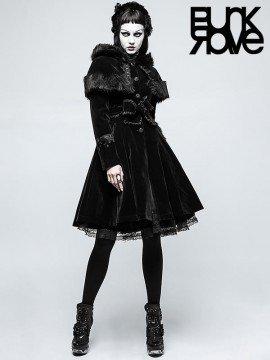 Gorgeous Black Lolita Cape Coat