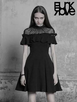 Daily Life - Multi-Wear 2PC Detachable Lotus Leaf Sleeve Dress