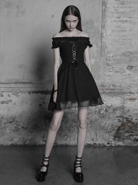 Daily Life - Off-The-Shoulder Lolita Dress