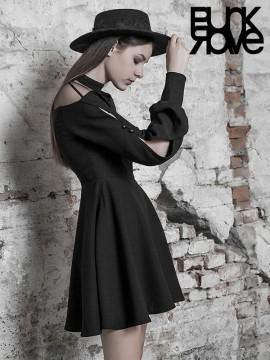 Daily Life - Cute Black College Dress