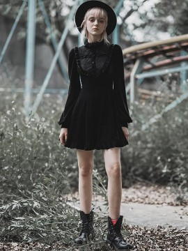 Daily Life - College Patchwork Dress