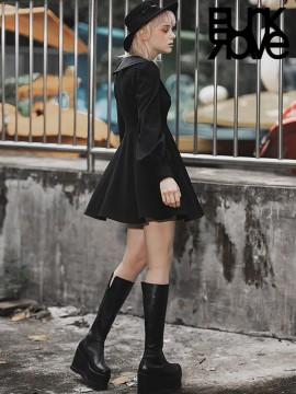 Daily Life - Black Nun Dress