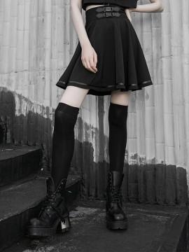 Daily Life High Waist Swing Skirt