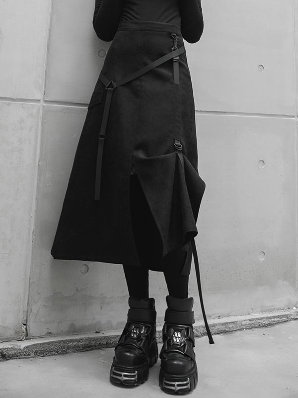 Daily Life Punk Two-Wear Style Skirt