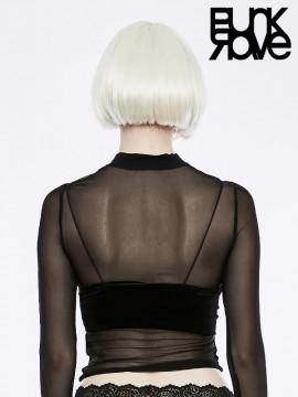 Gothic Cute Little Velvet Camisole