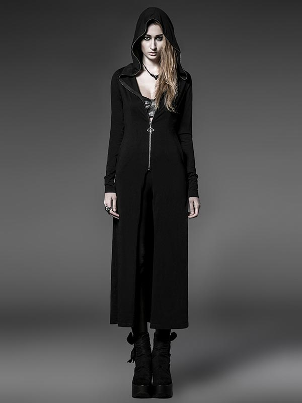 Dark Sorceress Long Coat