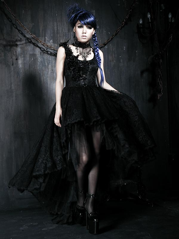 Gothic Palace Court Lace Dress