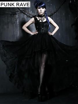 Gothic Palace Court Lace Dress