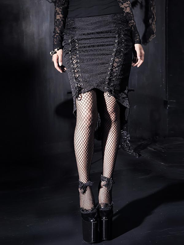 Gothic Fishtail Skirt