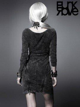 Steampunk Vintage Long Sleeve Dress