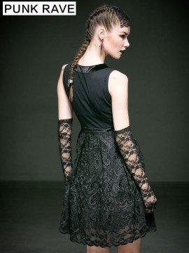 Gothic Aubrey Hepburn Lace Dress