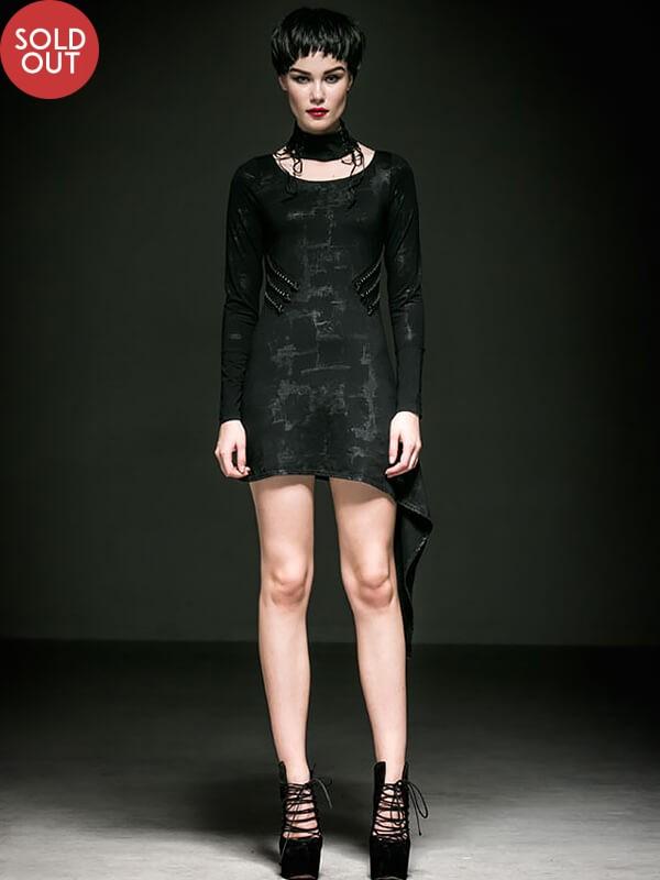 Punk Black Party Dress