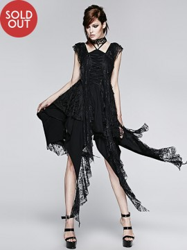 Gothic Teardrop Decadent Lace Dress