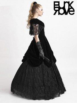 Victorian Gothic Velveteen Dress