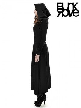 Gothic Witch Dress with Hood
