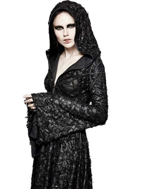 Gothic Decadent Hooded Dress