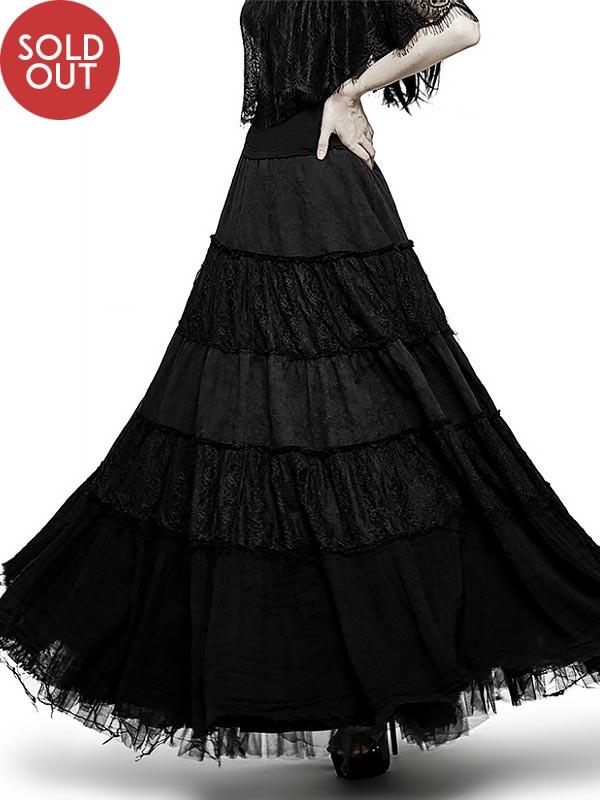 Big Swing Gothic Skirt