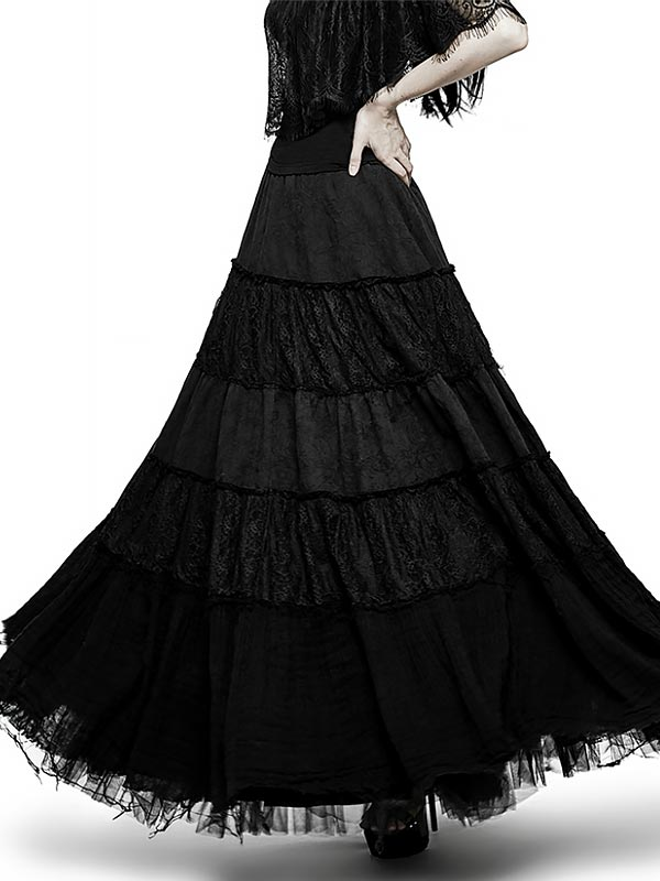 Big Swing Gothic Skirt