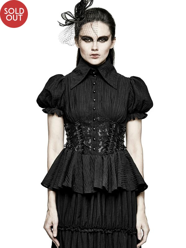 Gothic Peasant Dress