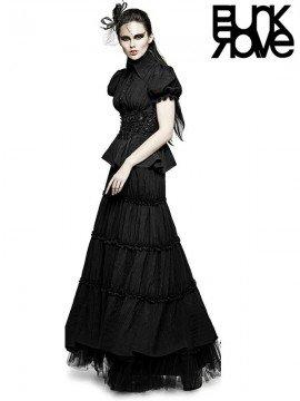 Gothic Peasant Dress