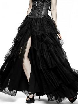 Gothic Wedding Dress Dual-Use Crinoline Petticoat Skirt