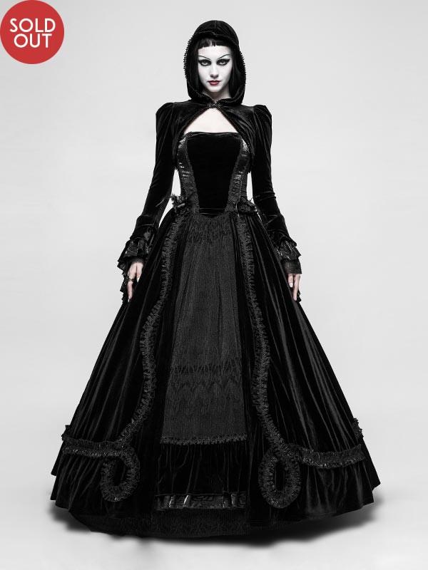 Gorgeous Gothic Full Swing Dress