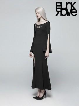 Gothic Bat Code Dress