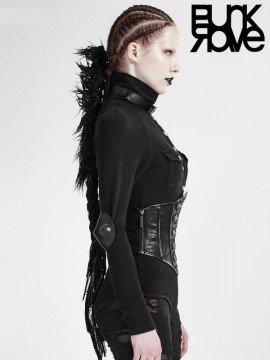 Gothic Military Uniform Corset