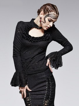 Gothic Palace Knit Top