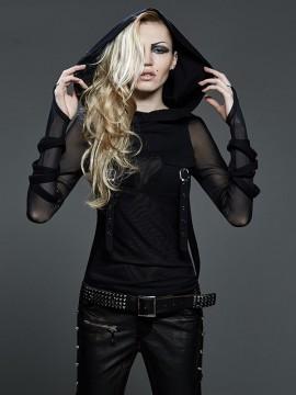 Gothic Futuristic Dark Hoodie