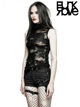 Gothic Decadent Sleeveless T-Shirt