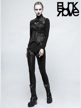 Steampunk Long Sleeve T-Shirt - Black