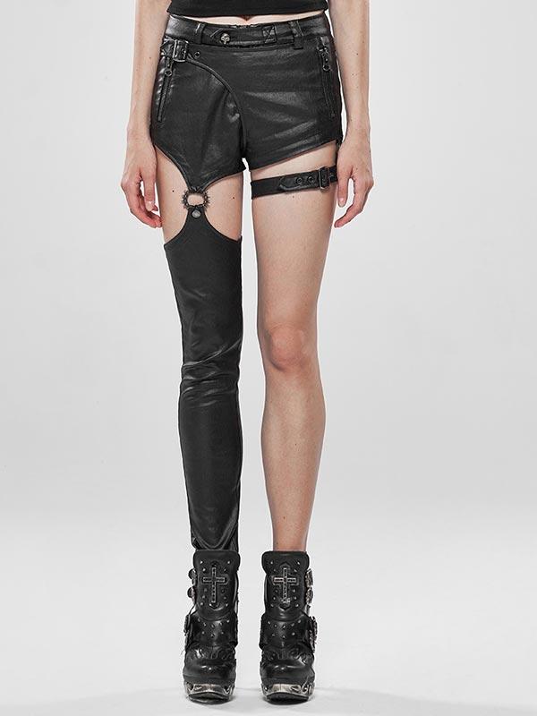 Punk Future Warrior Asymmetrical Convertible Pants