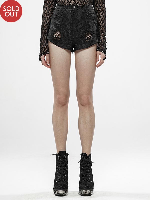 Gothic Thorns and Desire Shorts