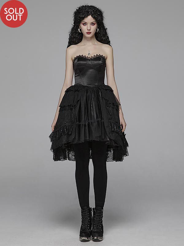 Pretty Lolita Strapless Dress