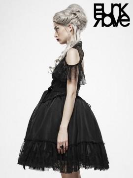 Black Fairy-Tale Doll Dress